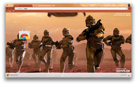 theme google chrome star wars star wars chrome web store