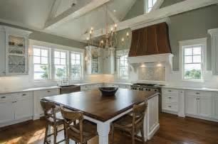 walnut kitchen island transitional kitchen benjamin horizon gray jacksonbuilt