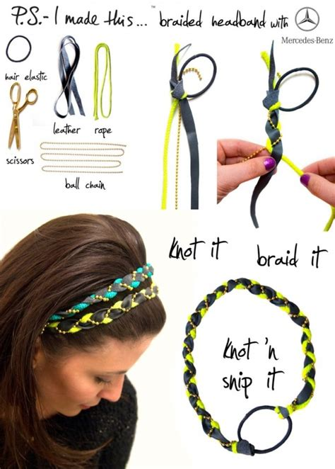 How To Make Handmade Hair Bands - diy crafts for to do at home