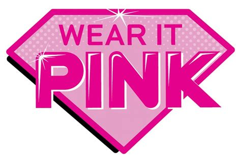 wear  pink superhero logo diversified communications uk