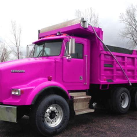 pink mercedes truck pink kenworth pink dump truck by stefanolsson