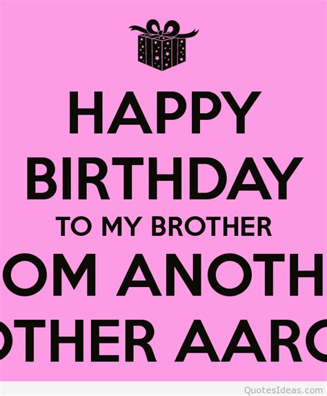 Happy Birthday Bro Quotes Birthday Quotes For Brother Birthday Wishes Quotes Good