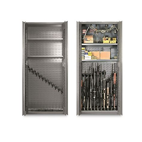 Tactical Gun Cabinet by Secureit Tactical Model 72 12 Gun Storage Cabinet