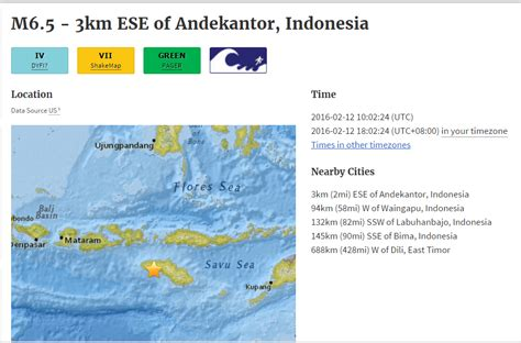 earthquake website breaking news powerful 6 5 earthquake strikes indonesia usgs