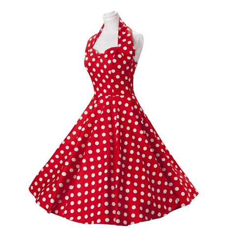 1950s polka dot swing dress retro jive polka dot swing 1950s housewife pinup vintage