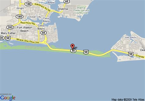 florida emerald coast map emerald coast inn and suites fort walton deals