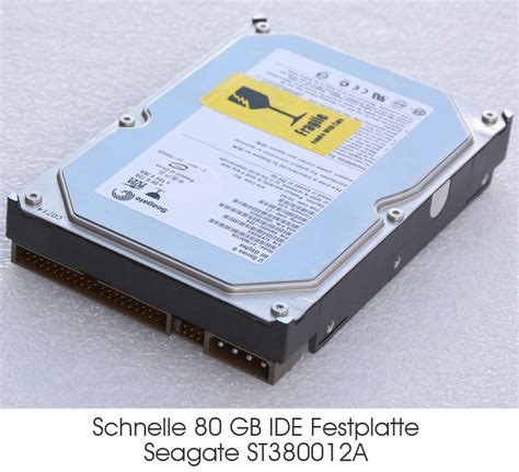 Hdd Seagate 80 Gb 3 5 quot 8 89 cm 80 gb 80gb ide disco rigido hdd seagate