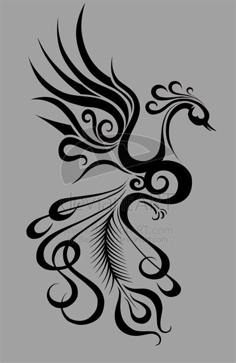 phoenix tattoo no outline phoenix outline cool idea for quilling harry potter