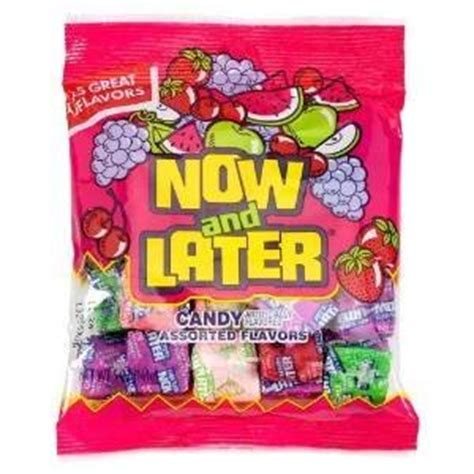 Amazon.com : NOW AND LATER CANDY INDIVIDUALLY WRAPPED ... Now And Later Candy Flavors