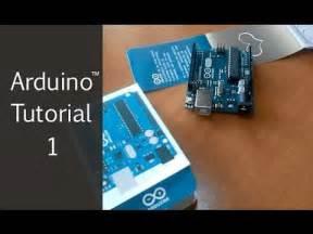 arduino tutorial on youtube arduino tutorial 1 blinking an led youtube