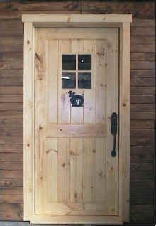 How To Build Exterior Door Outside Doors On Pinterest Rustic Doors Timber Homes And Front Doors