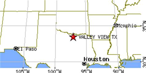 valley view texas map valley view texas tx population data races housing economy