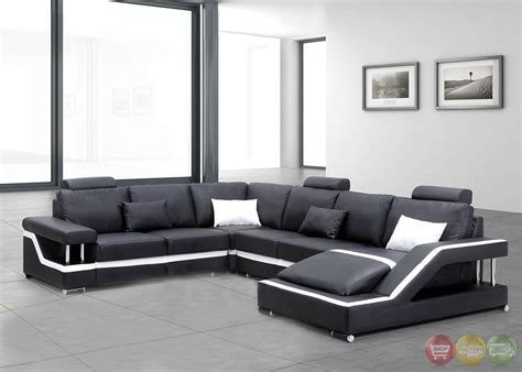 irma ultra modern medium wood sectional sofa set with