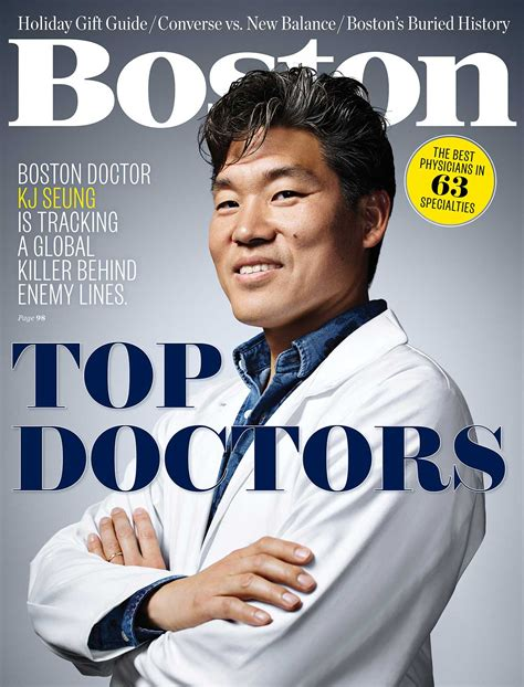 best for doctors boston magazine recognizes 60 bmc physicians as top docs