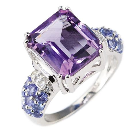 8 Awesome Ways To Ring In The New Year by Tutti Fruity Amethyst Ring