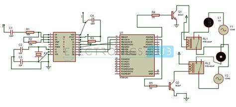 home lighting circuit design dtmf based home automation system using microcontroller