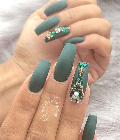 Rhinestone Nails by 40 Must Try Rhinestone Nail Ideas Fashion
