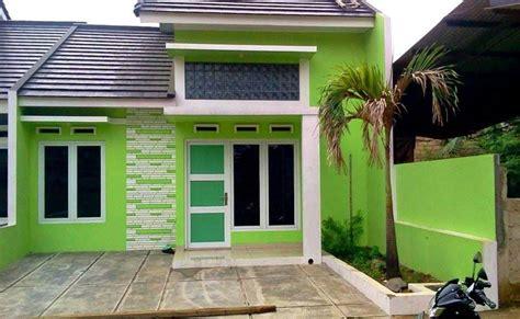ide cat  cocok  rumah minimalis oleh konsep