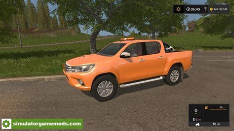 Toyota Ets Fs17 Toyota Hilux Convoy Agricole V1 Simulator