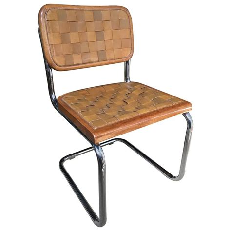 Leather Chair Mid Century Modern by Mid Century Modern Cantilevered Leather Chair Marcel