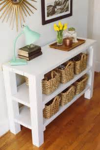 Entry Way Table by Entryway Key Throw Table A Beautiful Mess