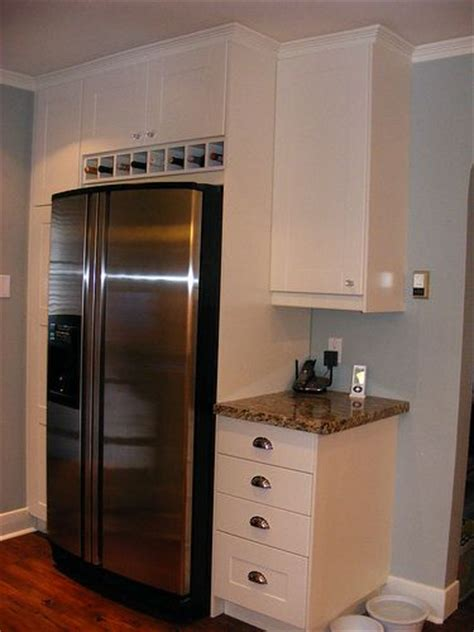 tv above refrigerator kitchen ideas pinterest 25 best ideas about refrigerator cabinet on pinterest