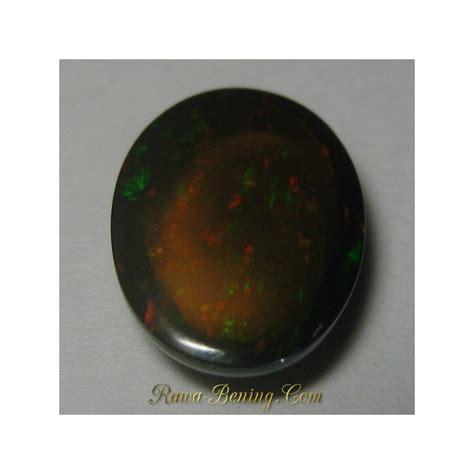 Batu Cincin Black Oval Jarong batu mulia black opal oval cabochon jarong rintik