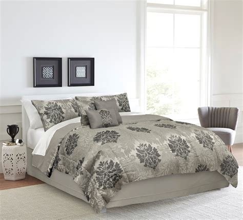 jacquard comforters essential home jacquard palace comforter set home bed