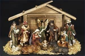 Nativity set 12 11pc resin nativity set with stable