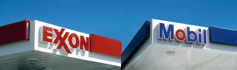 exxon mobil stations exxon mobil gas logo www pixshark images galleries