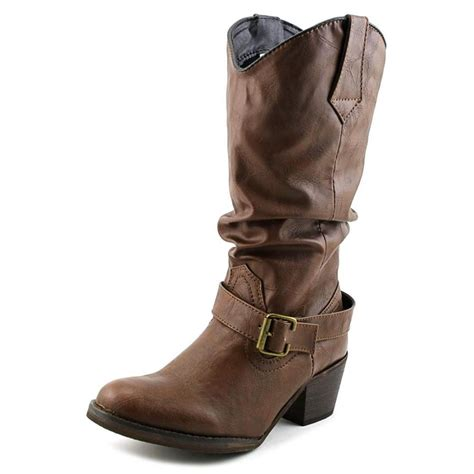 dingo lad 12 slouch w leather brown boot boots