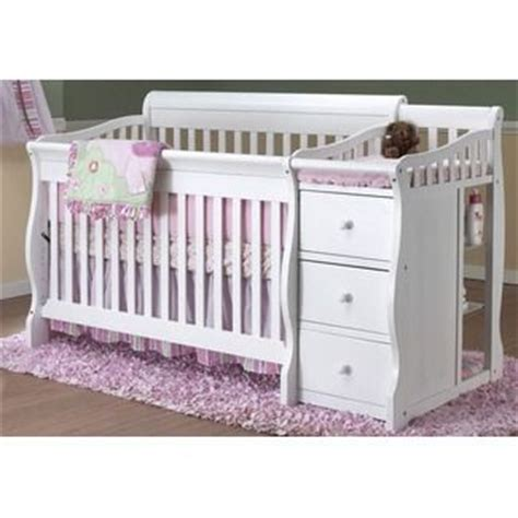 Baby Crib With Changing Table Attached White Crib With Attached Changing Table The Baby Boy Room Pinte