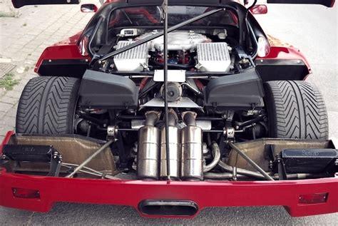 Ferrari 348 Engine Swap by The Ferrari F40 The Classic Supercar