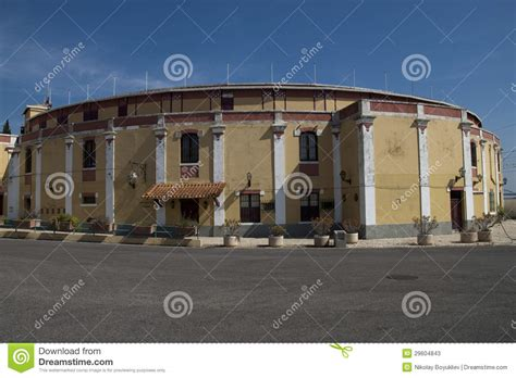 design on stock villa arena bullfighting arena stock photos image 29604843