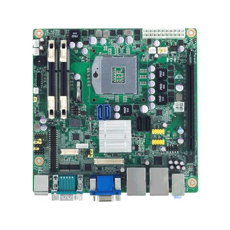 Part Mainboard Pcb Printer Thermal Eppos Ep200 intel 174 i7 i5 i3 celeron ufc pga988 mini itx with crt dvi hdmi lvds 6 dual lan pcie x16
