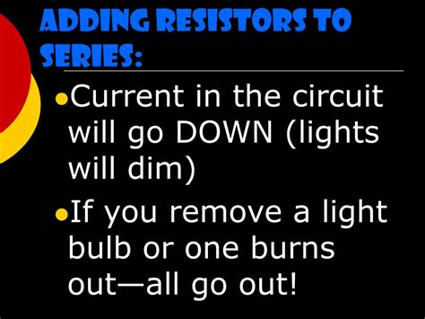 adding more resistors in series to a circuit will ppt series and parallel circuits powerpoint presentation id 225105