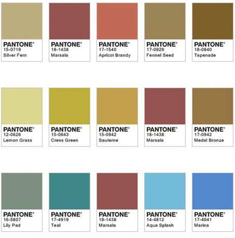 pantone color chart 2017 colores google and pantone on pinterest
