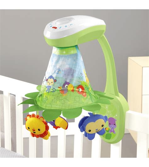 Fisher Price Crib Mobile Rainforest by Fisher Price Rainforest Grow With Me Projection Mobile