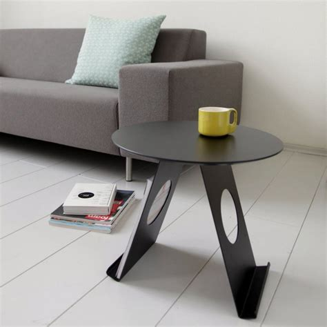 contemporary side tables in unique shape pi and up home building furniture and interior