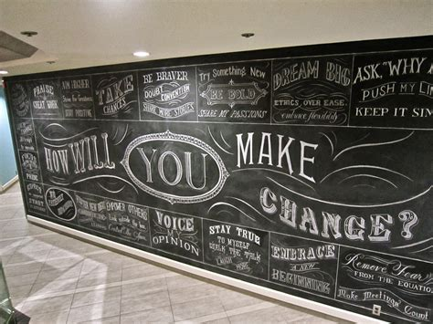 How To Paint Wall Murals wall letters in ink