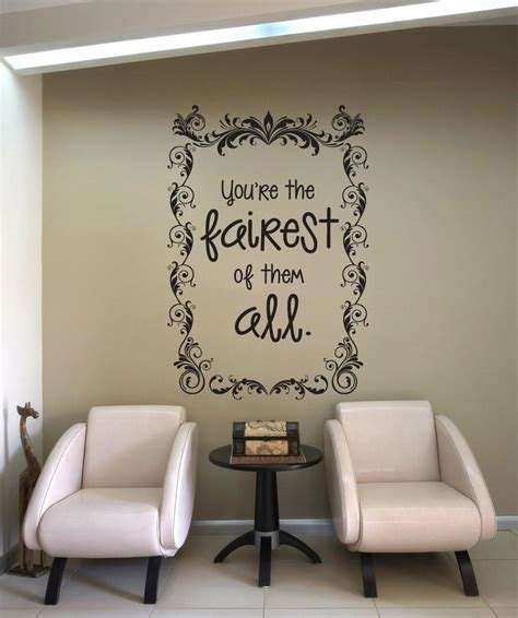 mirror mirror on the wall sticker vinyl wall decal sticker mirror mirror on the wall os dc619