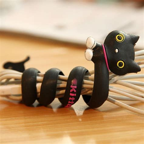 Animal Earphone Winder mataveni cable winder animal headphone