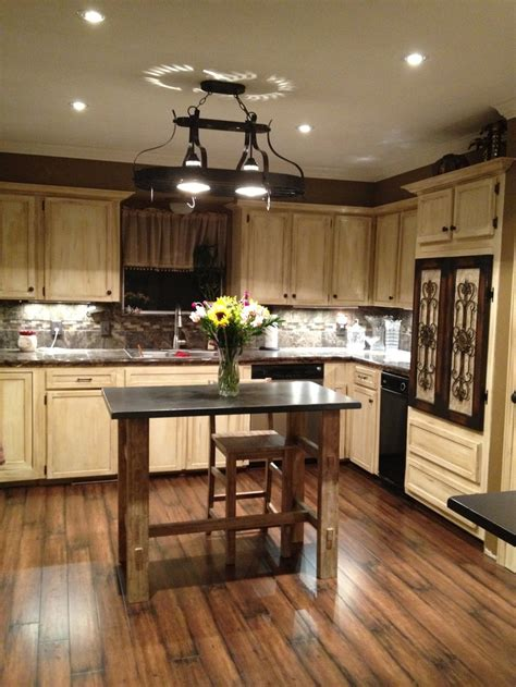 painted and stained kitchen cabinets painted kitchen cabinets using gel stain and polishing wax