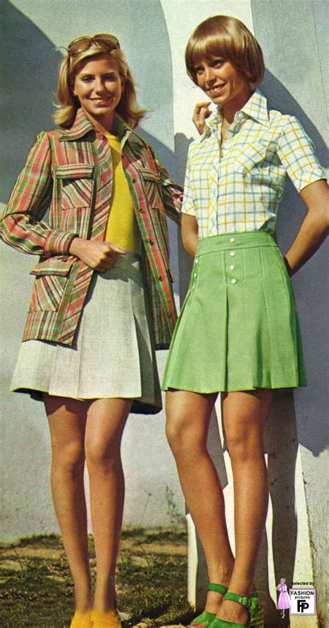 colorful s fashions in the early 1970s
