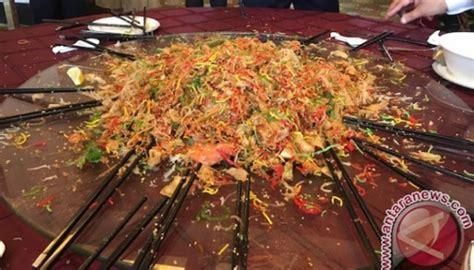 Iga Saus Plum Vegetarian langkah menyiapkan sajian khas imlek yee sang tempo cantik