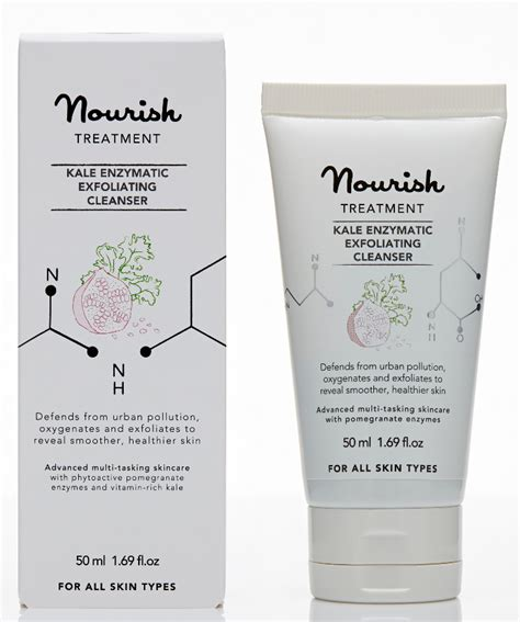 Kale Detox Cleansing Wash Review by Nourish Kale Enzymatic Exfoliating Cleanser