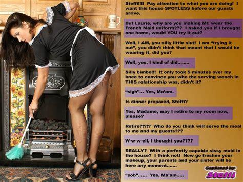 maid captions latex sissy maid bondage