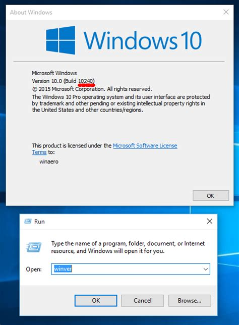 How To Find You How To Find The Windows 10 Build Number You Are Running