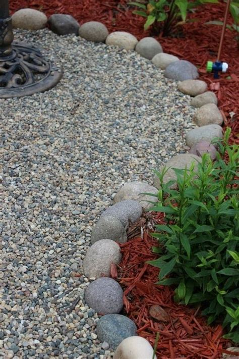 the 25 best pebble garden ideas on pebble