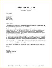 format of business proposal letter sample cover letter